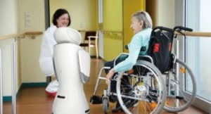 sanbot senior center technology future elderly help service replacement bring improvement
