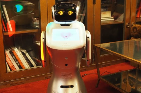 sanbot home assistance butler technology help service bring improvement