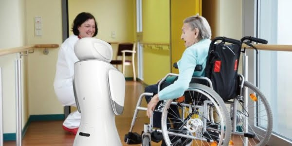 sanbot best robot assitance elderly safe technology disabled home help service bring improvement