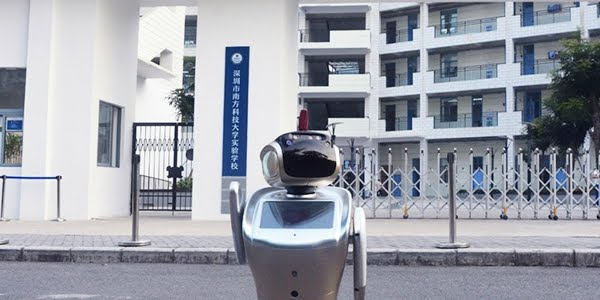 sanbot best robot university technology future college help service replacement bring improvement
