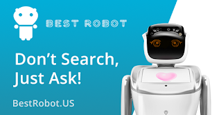 Best Robot Do not search, just ask banner